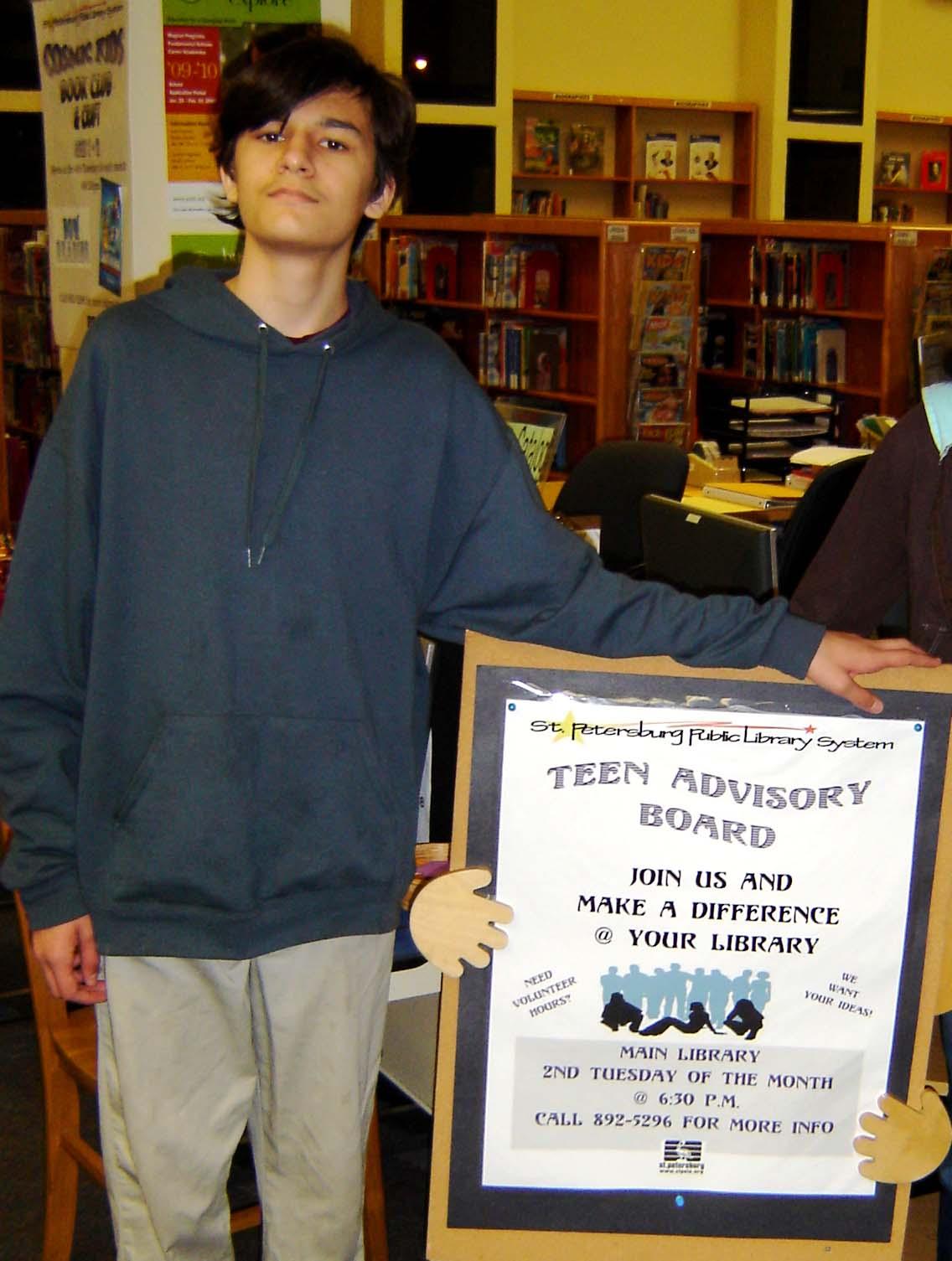 St. Petersburg Library - Teen Advisory Board