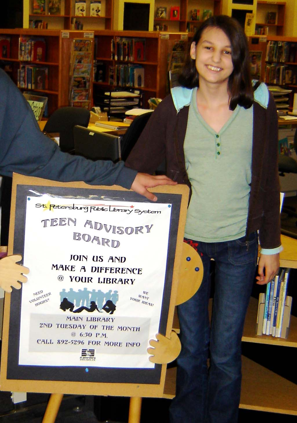 St. Petersburg Library - Teen Advisory Board